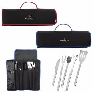KOOZIE® 5-Piece Kamp BBQ Set