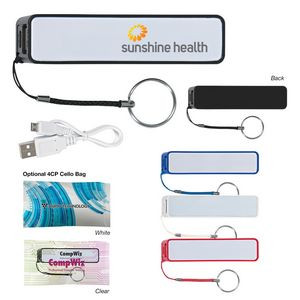 UL Listed Power Bank With Key Ring