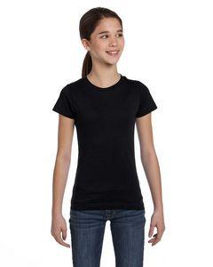 LAT Girls' Fine Jersey T-Shirt