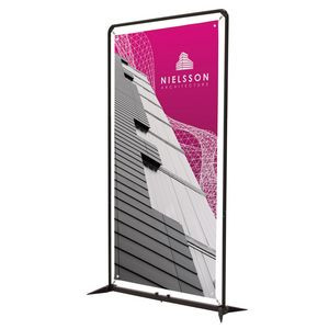 4.5' FrameWorx Banner Display Kit (No-Curl Opaque Fabric)