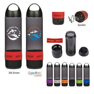 16 Oz. Tritan™ Rumble Bottle With Speaker