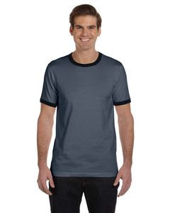 Canvas Men's Jersey Short-Sleeve Ringer T-Shirt