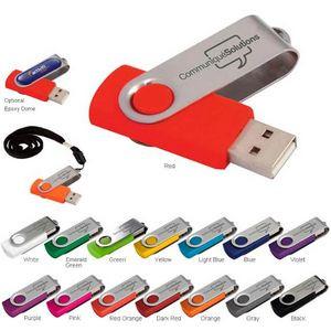 8 GB Folding USB 2.0 Flash Drive