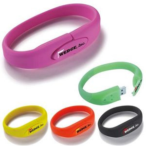 8 GB Universal Source™ Wrist Band 2.0 USB Flash Drive
