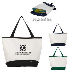 Sifter Beach Tote Bag