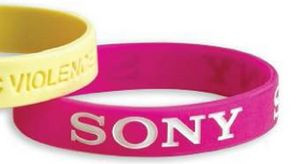 Silicone Band w/Standard Size Debossed