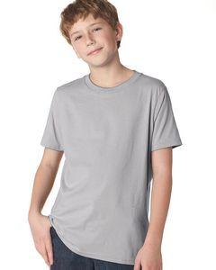 Next Level Boys' Cotton Crewneck Shirt