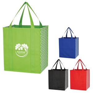Non-Woven Curved Diamond Tote Bag