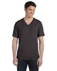 BELLA+CANVAS Unisex Triblend Short-Sleeve V-Neck T-Shirt