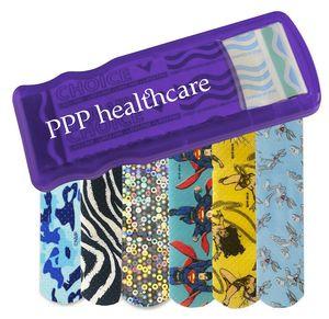 Bandage Dispenser w/ Pattern Bandages