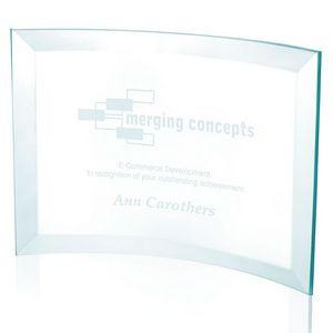 Jaffa® Large Jade Crystal Scroll Award