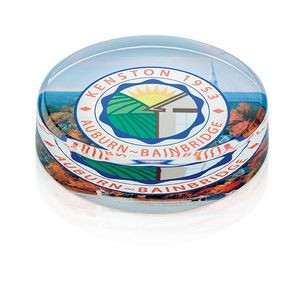 Jaffa® Round Paperweight Award