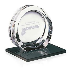 Jaffa® Signature Series Medium High Tech Award on Black Glass Base