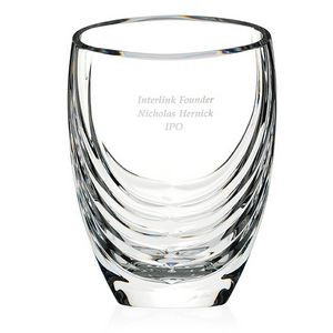 Jaffa® Signature Series Siena Clear Crystal Vase