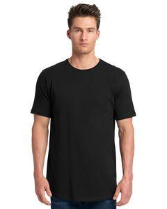 Next Level Men's Cotton Long Body Crewneck Shirt