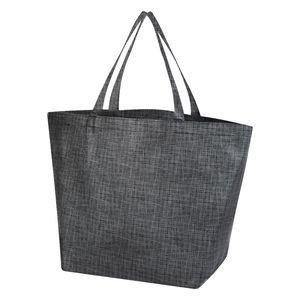 Crosshatch Non-Woven Tote Bag