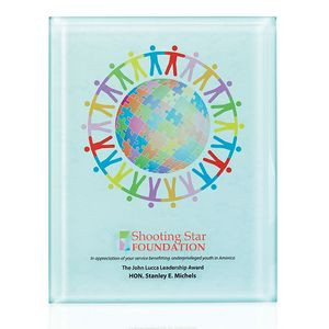 """Jaffa® Radiant Trillinnium Award Plaque (8""""x10"""")"""