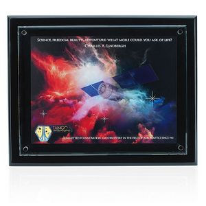 Jaffa® Floating Glass Plaque