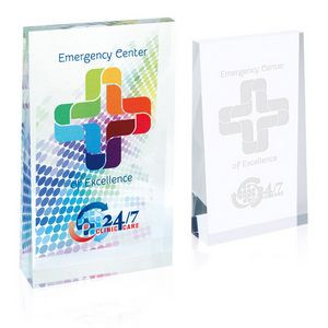 Jaffa® Small Acrylic Wedge Award