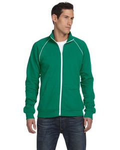 Canvas Men's Piped Fleece Jacket