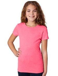 Next Level Youth Princess CVC T-Shirt
