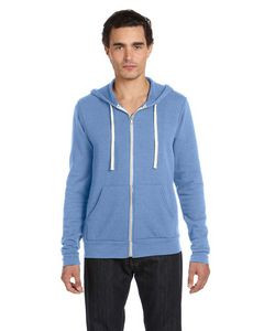 Canvas Unisex Triblend Sponge Fleece Full-Zip Hoodie