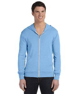 BELLA+CANVAS Unisex Triblend Full-Zip Lightweight Hoodie
