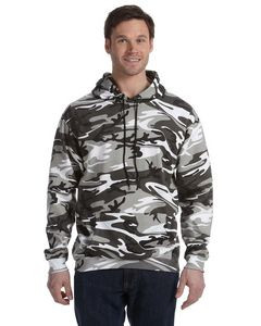 CODE V Unisex Camo Pullover Hoodie