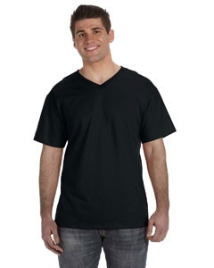 Fruit of the Loom Adult 5 oz. HD Cotton? V-Neck T-Shirt