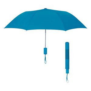 "42"" Arc Neon Telescopic Folding Umbrella"