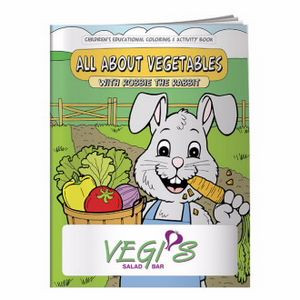 BIC Graphic® Coloring Book: All About Vegetables