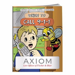 BIC Graphic® Coloring Book: When to Call 9-1-1
