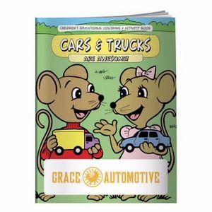 BIC Graphic® Coloring Book: Cars & Trucks