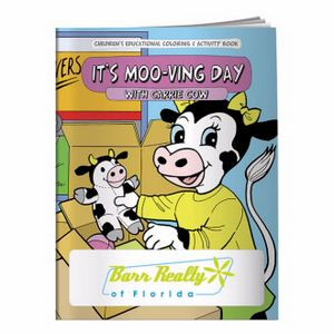 BIC Graphic® Coloring Book: It's Moo-ving Day
