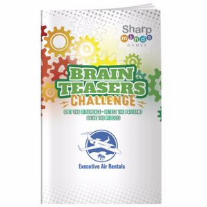 BIC Graphic® Sharper Minds Games: Brain Teasers