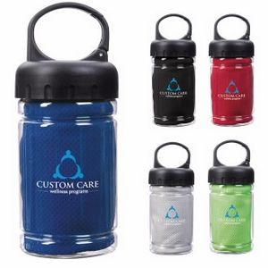 Good Value® Carabiner Bottle w/Cooling Towel