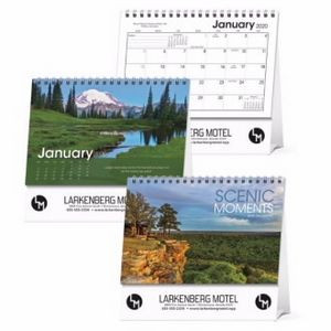 Triumph® Scenic Moments Large Desk Calendar