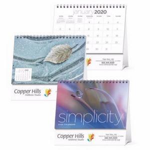Triumph® Simplicity Large Desk Calendar