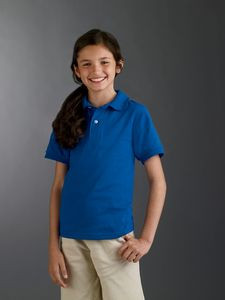 Jerzees® Youth 5.6 Oz. SpotShield™ Jersey Polo Shirt