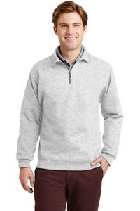 Jerzees® Super Sweats® NuBlend® 1/4 Zip Sweatshirt w/ Cadet Collar