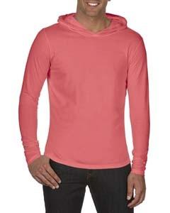 Comfort Colors® Adult Long-Sleeve Hooded T-Shirt