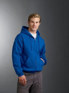 Jerzees Adult 9.5 oz., Super Sweats® NuBlend® Fleece Full-Zip Hood