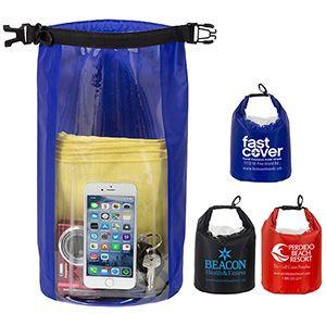 """The NavagioL"" 5.0 Liter Water Resistant Dry Bag w/Clear Pocket Window (Overseas)"