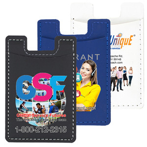 """Executive"" Leatherette Cell Phone Wallet (Overseas)"