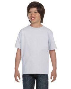 Hanes Youth 5.2 Oz. ComfortSoft® Cotton T-Shirt