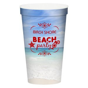 22 Oz. Full Color Stadium Cup