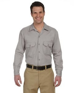 Dickies Men's 5.25 Oz. Long-Sleeve Work Shirt