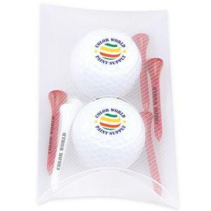 2 Ball Pillow Pack w/ Titleist® DT TruSoft™ Golf Balls