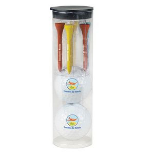 Par Pack w/ 2 Balls-N-Tees - Titleist® DT TruSoft™ Golf Ball