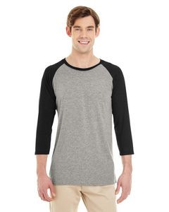 JERZEES® Adult 4.5 Oz. TRI-BLEND Baseball Raglan T-Shirt